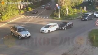 Авария, г. Котельники, мкрн. Силикат, въезд в промзону, 31.07.2017