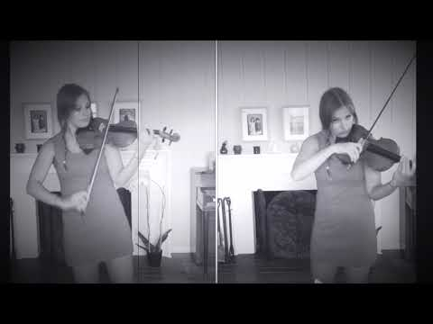 "This is a fun project I made for my friend's birthday - he loves the artist ""The XX"" so I re-wrote one of their songs for violin."