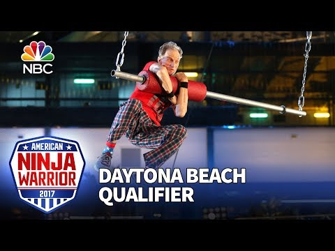 John Loobey at the Daytona Beach Qualifiers - American Ninja Warrior 2017