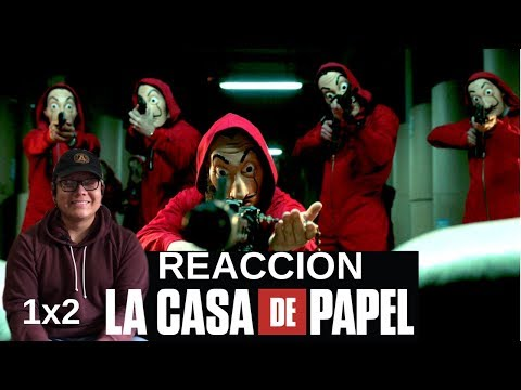 DOWNLOAD: Money Heist Season 1 Episode 2 - REACTION!! Mp4