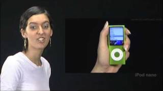 New iPod Nano - How to Use iPod Nano Hold switch Center button and Click Wheel