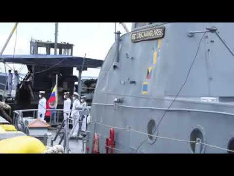 """Desactivación de los buques ARC """"Cabo Manglares"""" y ARC """"Bahía Solano"""""""