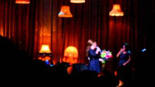 Adele - Being very emotional - iTunes Festival Roundhouse Chalk Farm 07-07-2011