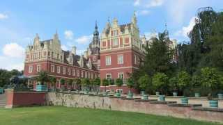 preview picture of video 'Bad Muskauer  Park und Schloss. Walking Tour'