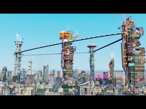 SimCity Cities of Tomorrow: Official Launch Trailer thumbnail