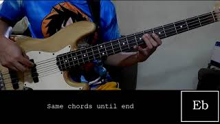 I Lift Your Name Up By Planetshakers (Bass Lesson)