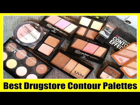 Best Drugstore Contour & Highlight Palettes