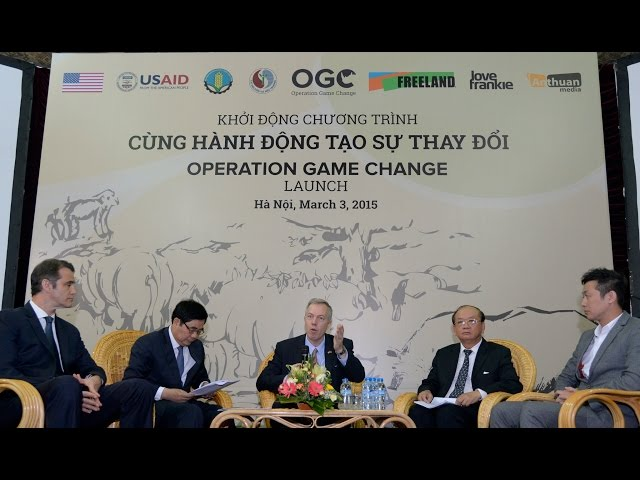 Operation Game Change marks World Wildlife Day in Vietnam