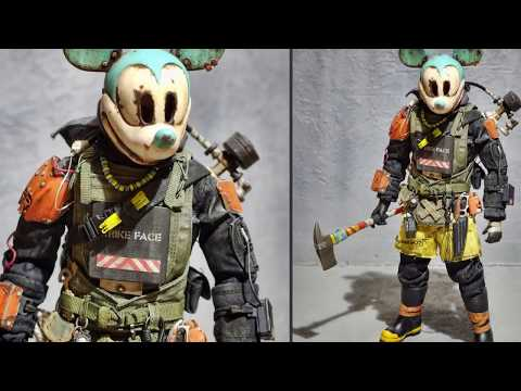 Japanese youtuber creates extremely detailed post apocalyptic Disney characters