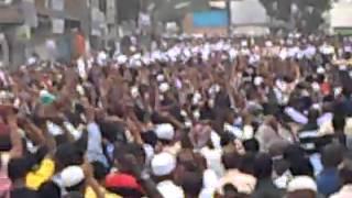 Ethio Muslim Peaceful Demonstration At Anwar Mesjid Jun/7/2013