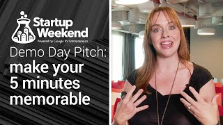 Demo day pitch: make your 5 minutes memorable