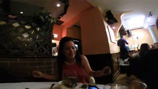 DINNING AT GUANTANAMERA CUBAN RESTAURANT NEW YORK CITY