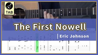 The First Nowell | Eric Johnson(with TAB)