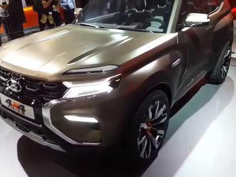 Lada 4x4 Vision concept-car salon de Moscou 2018
