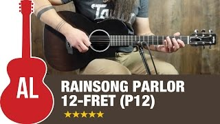 RainSong P12 Parlor 12-fret Review