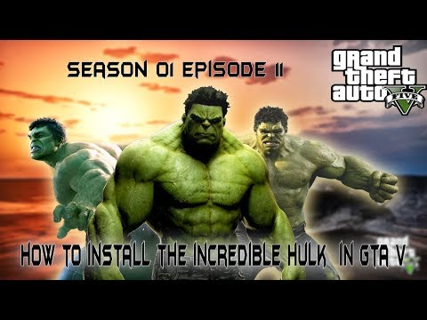Gta 5 - How to install hulk mod in gta 5 ( easiest method ) by g for