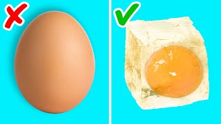 40 TASTY EGG HACKS TO BOOST YOUR COOKING SKILLS!    Kitchen tricks for beginners and pro