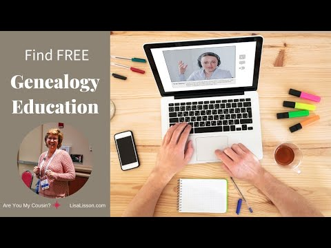 Finding Free Genealogy Education - It's Easier Than You Think!
