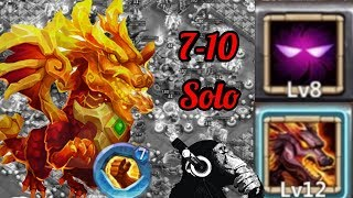 Lavanica | Insane 7-10 | Solo | 3 Flames | Castle clash