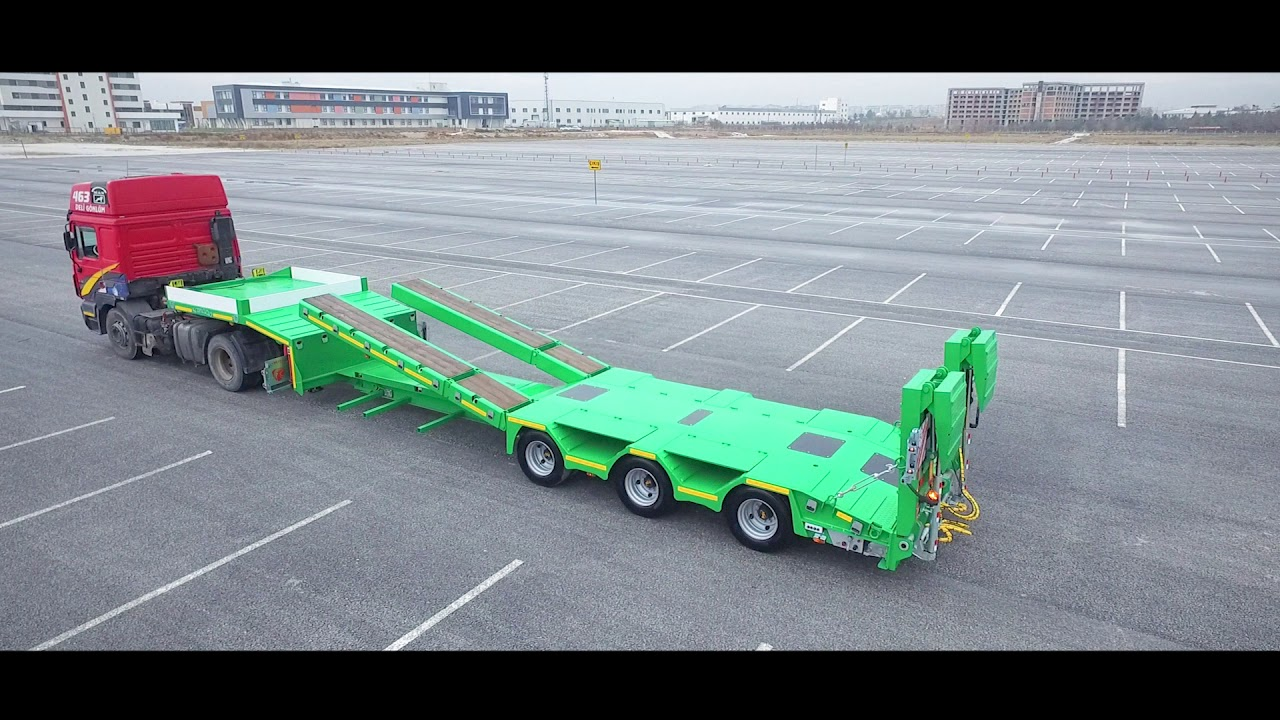 KMD WING -Special Series- 3 AXLE LOW LOADER
