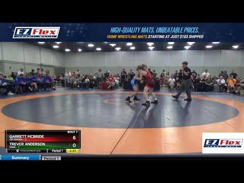 Mat 10 106 Garrett McBride Oklahoma Vs Trever Anderson Iowa