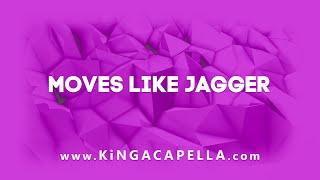 Maroon 5 Feat. Christina Aguilera   Moves Like Jagger (Studio Acapella)