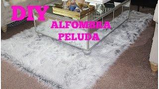 DIY   ALFOMBRA PELUDA- DIY FUR RUG