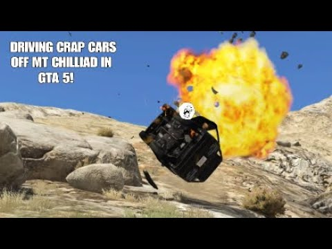 Grand Theft Auto 5 - Driving The Worst Cars Off Mt Chiliad