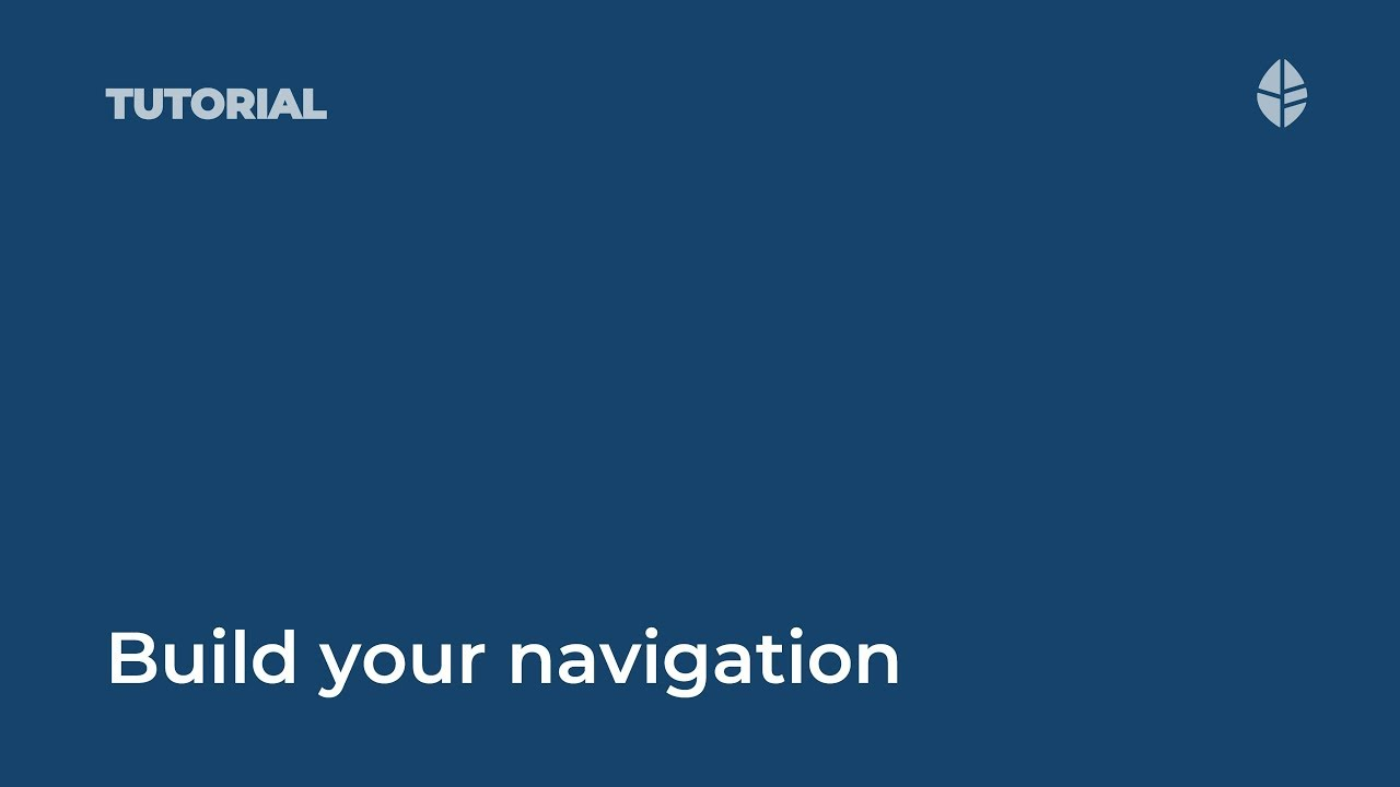 Build an intranet site navigation (IA) Video Thumbnail