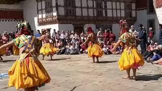 preview picture of video 'Bhutan Festival Tour'