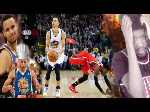 STEPHEN CURRY CAREER CROSSOVER & HANDLES REACTION!!