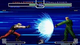Yamazaki Regresar Poderes vs Varios Personajes KOF 2002