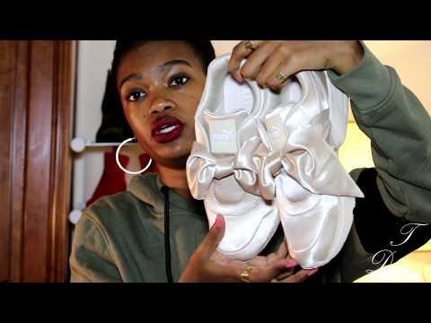 Puma Fenty Bow Sneakers (Pink Tint) - Lookbook