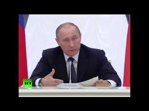 Путин: Повышать пенсионный возраст в России нецелесообразно
