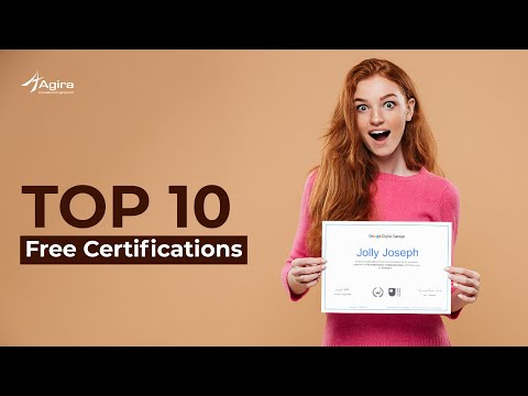 Top 10 Free Certifications - YouTube