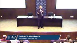 """Palestra: """"A Empresa e as Relações de Trabalho em Face a Reforma Trabalhista"""" Prof. Walney Costa"""