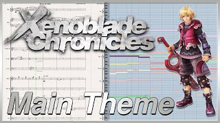 "New Transcription: ""Main Theme"" from Xenoblade Chronicles (2010)"