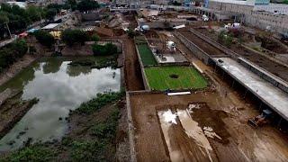 """""""Hydropuncture"""" – La Quebradora Hydraulic Park"""