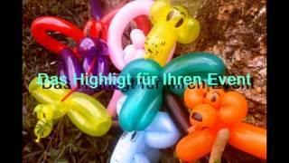 Ballonzauberer/ Ballonfiguren video preview