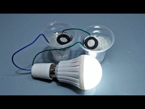 How to Make Free Energy Generator At Home Exhibition Using Light Bulb
