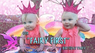 TWINS FAIRY FIRST BIRTHDAY PARTY!!! // BIRTHDAY SPECIAL! (Day 501)
