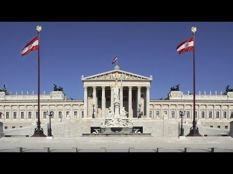 Экскурсия в парламент Австрии. Парламент