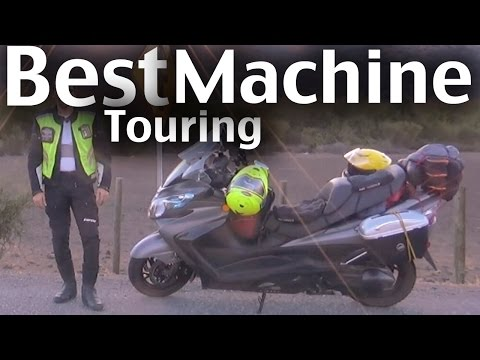 Suzuki Burgman 400 – Long Distance Touring Machine – Full Mods