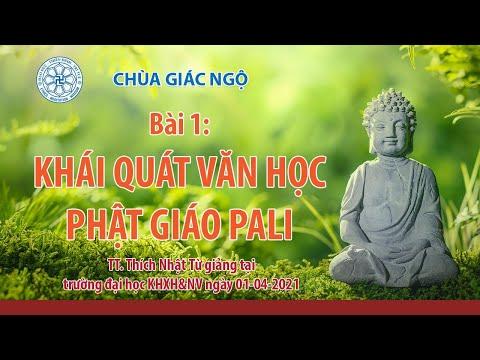 Khái quát văn học Phật giáo Pali