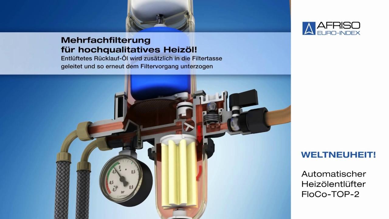 Afriso Automatischer Heizölentlüfter FloCo-Top-2