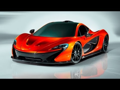 McLaren P1 | 2012 Paris Auto Show
