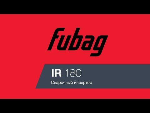 Сварочный инвертор FUBAG IR 180 [38472]
