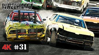 CHAMPION OF THE CHAMPIONS - Wreckfest Demolition Racing Onboard 4K - WORLD MASTERS Series #31
