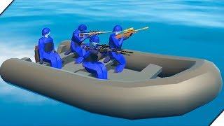 ПЕРЕСТРЕЛКА НА ВУЛКАНЕ. Отряд снайперов - Игра Ravenfield. Новое оружие и техника.