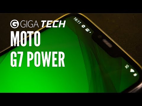 MOTO G7 POWER Hands-On (deutsch): Preiswertes Handy, dicker Akku – GIGA.DE